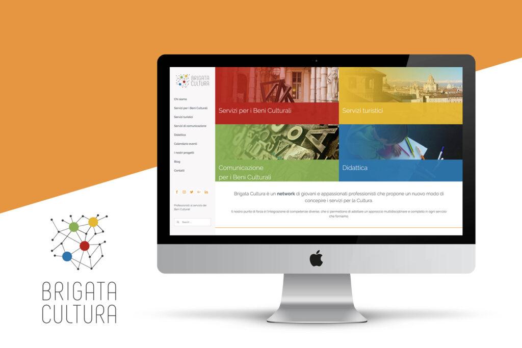 Brigata Cultura_redesign logo e sito web