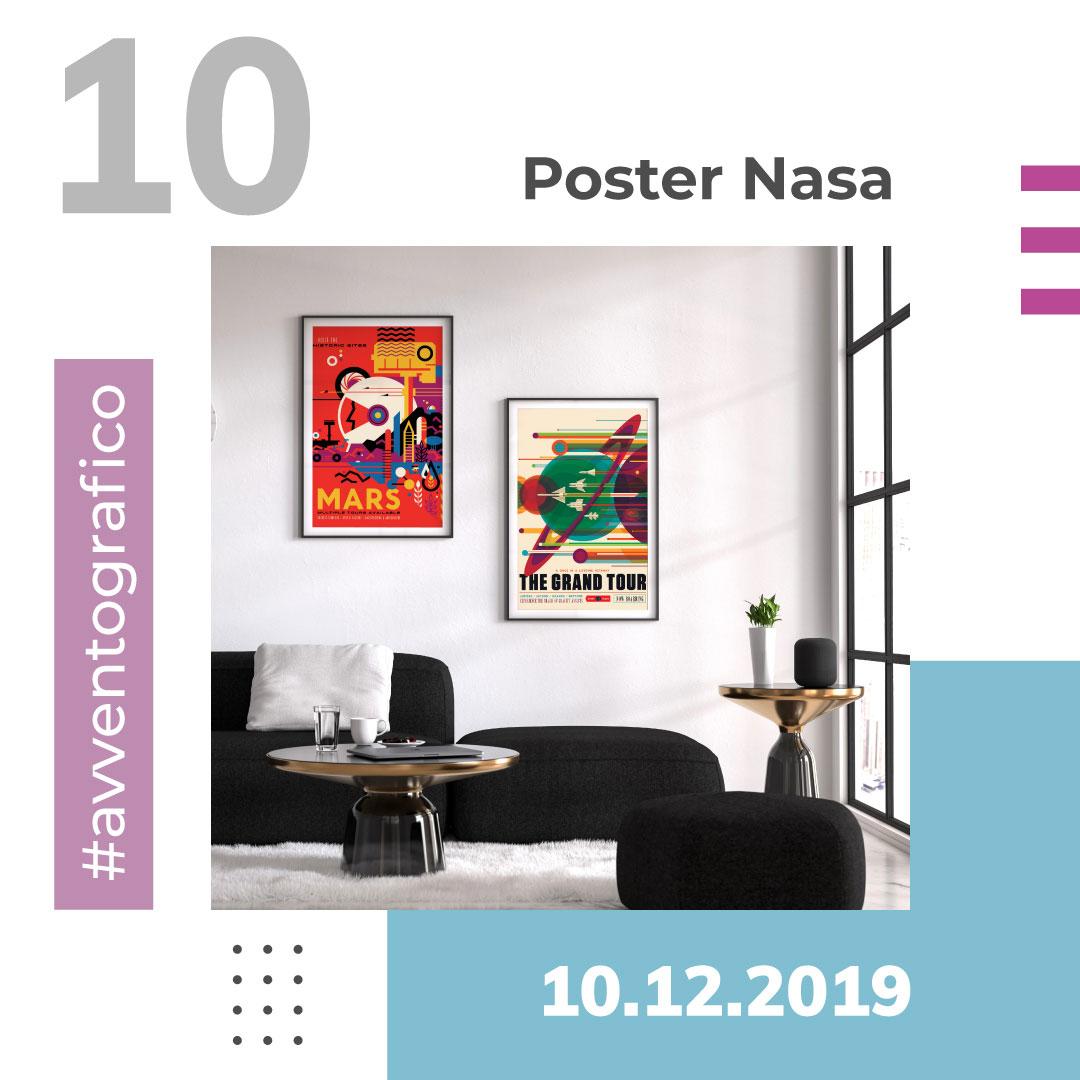 Avventografico del 10 dicembre 2019 - Poster Nasa