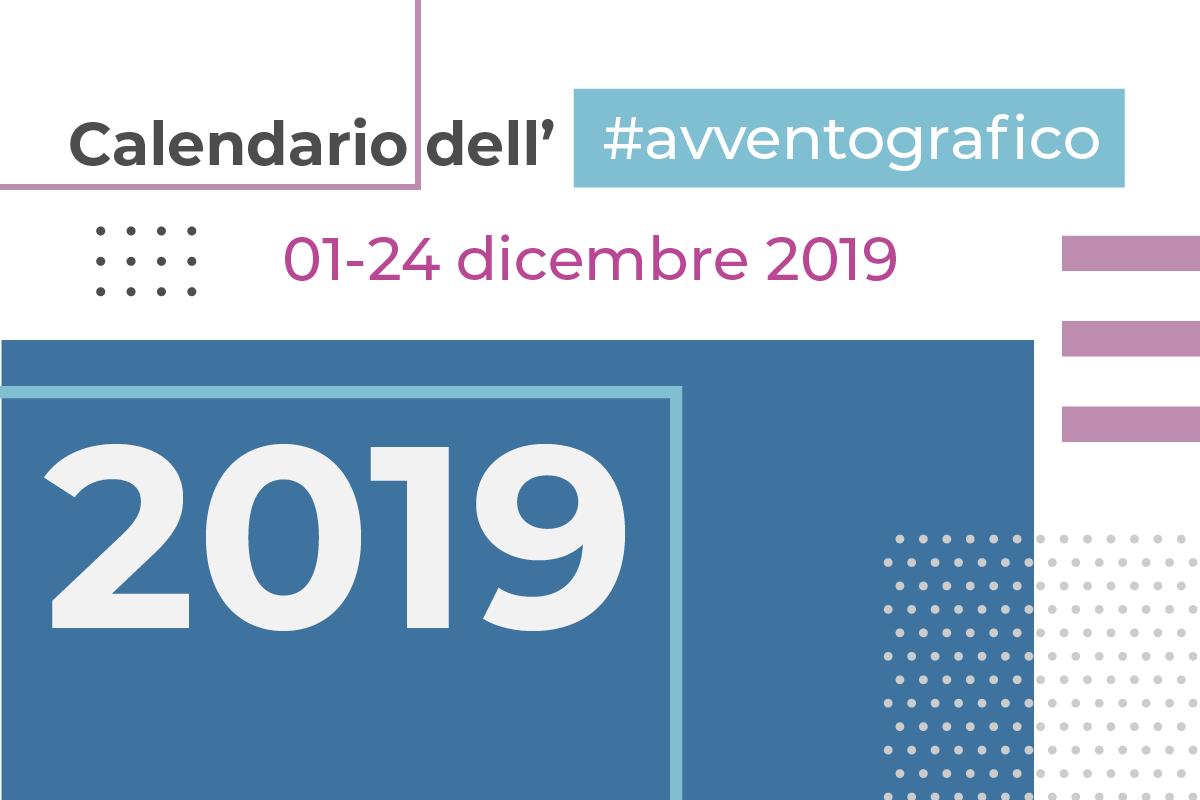 Calendario avventografico 2019, copertina del blog